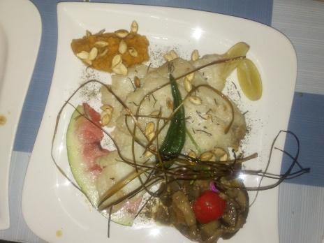 filete de pescado al natural